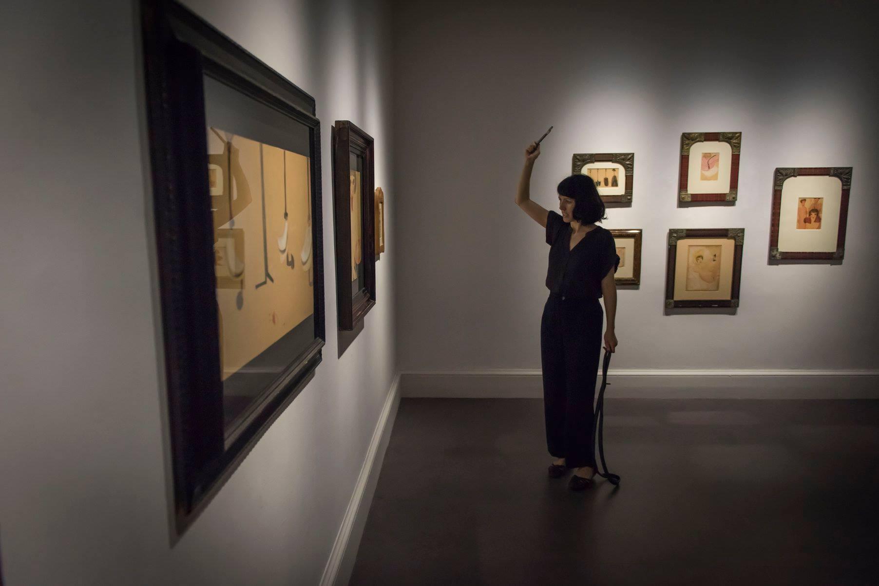Listen, Hissen, Hessin! at IMMA – Irish Museum of Modern Art, Dublin. Photography by Louis Haugh.