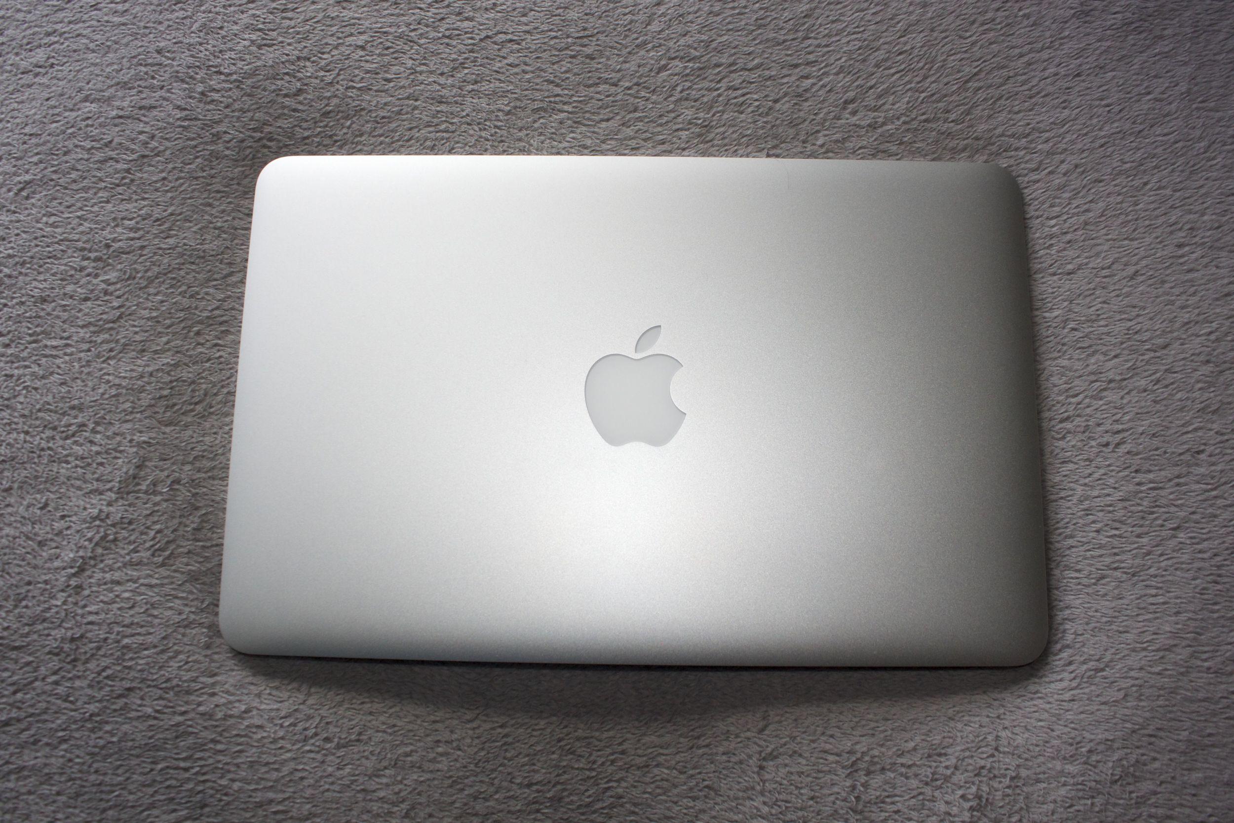 My trusty MacBook Air. It's love