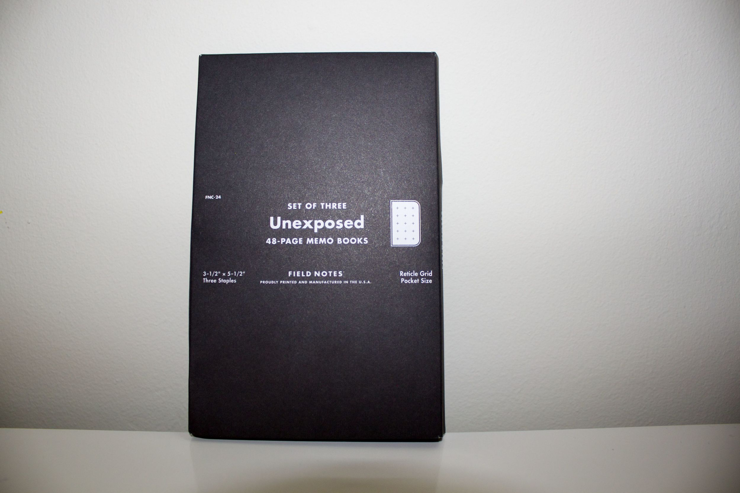 Unexposed packaging