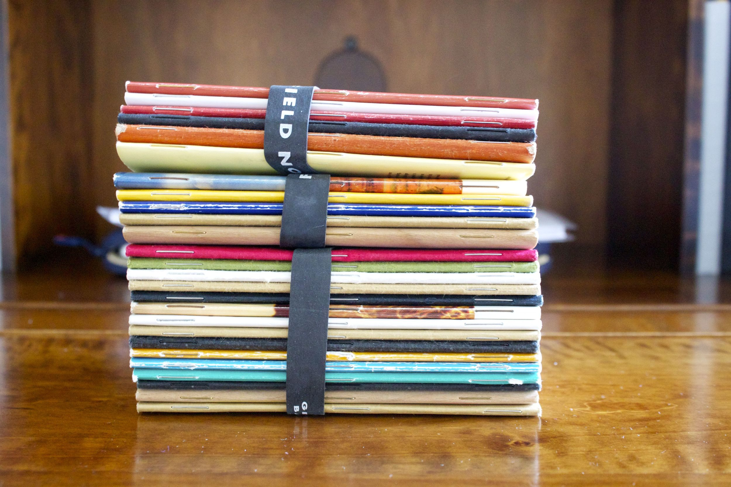 My Used Field Notes Collection