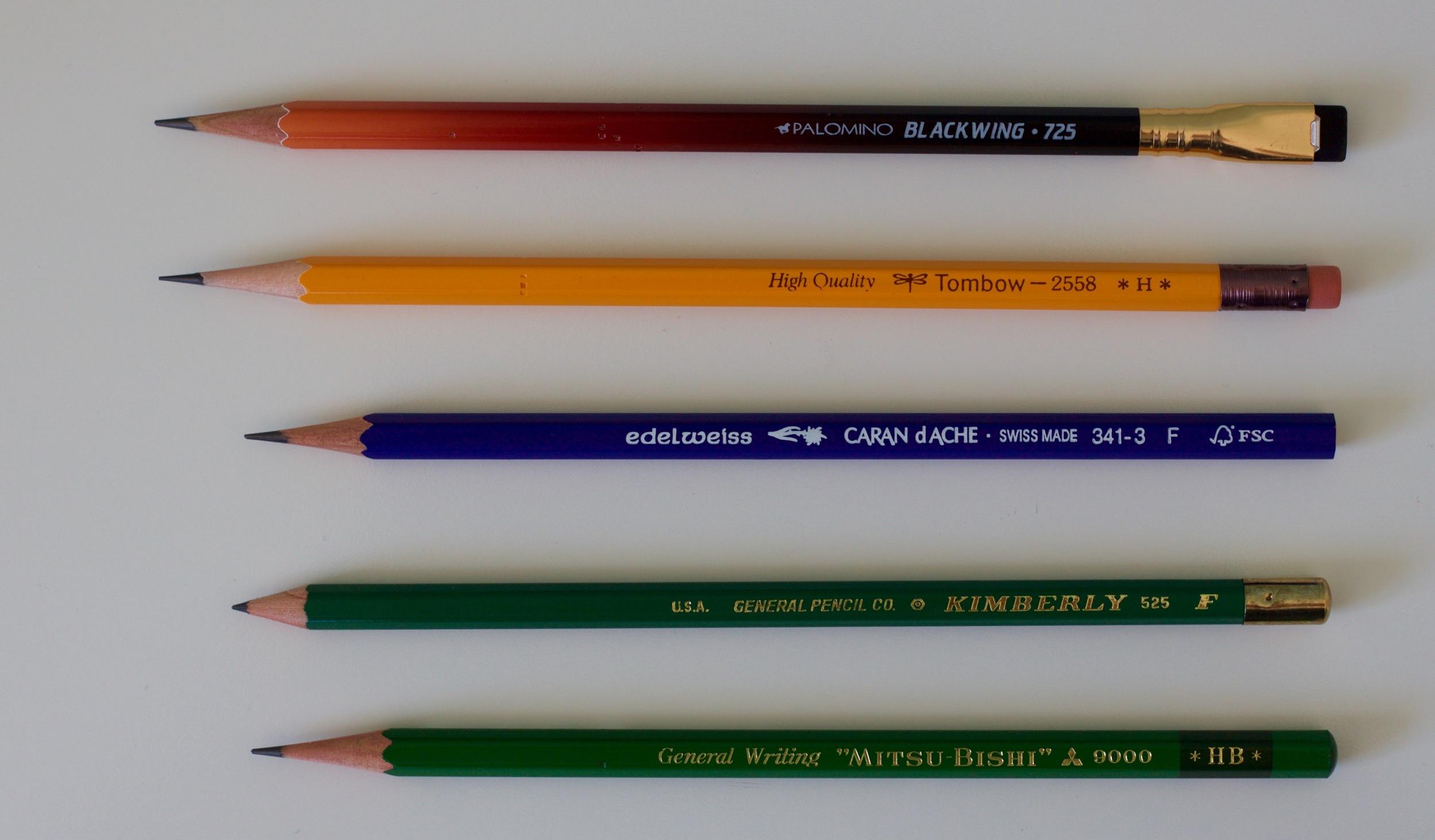Octobers preferred pencils