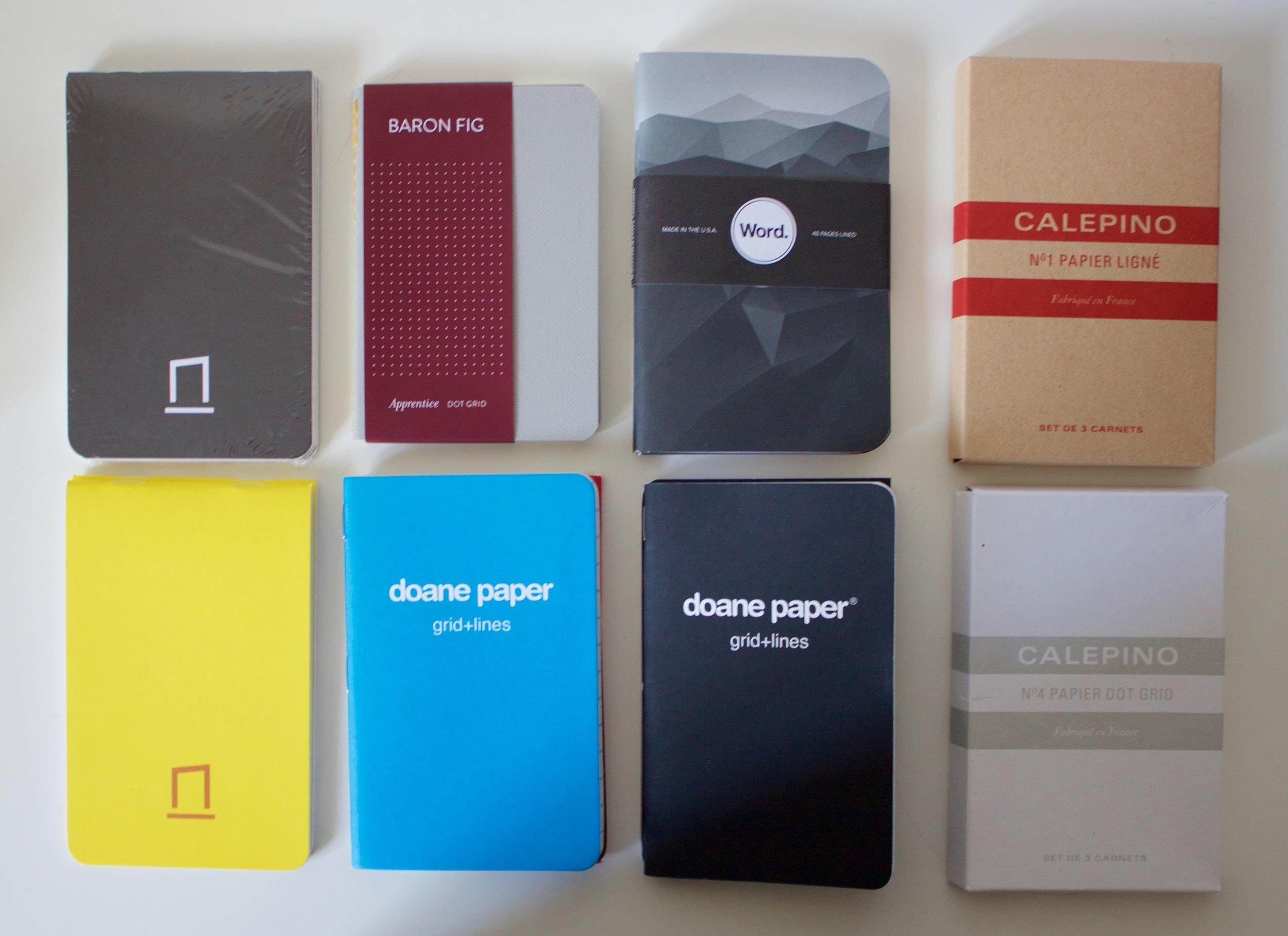 My other pocket notebook brands