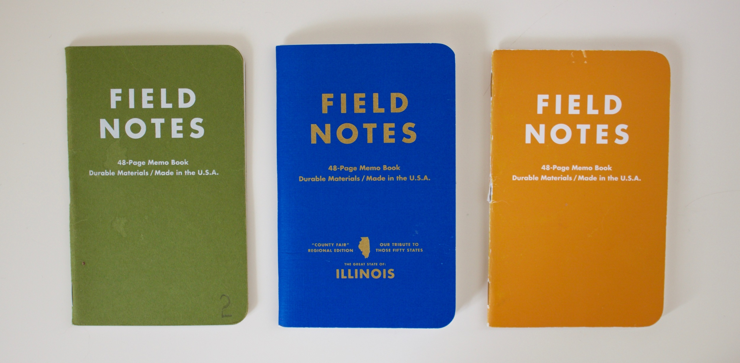 My top 3 Field Notes editions