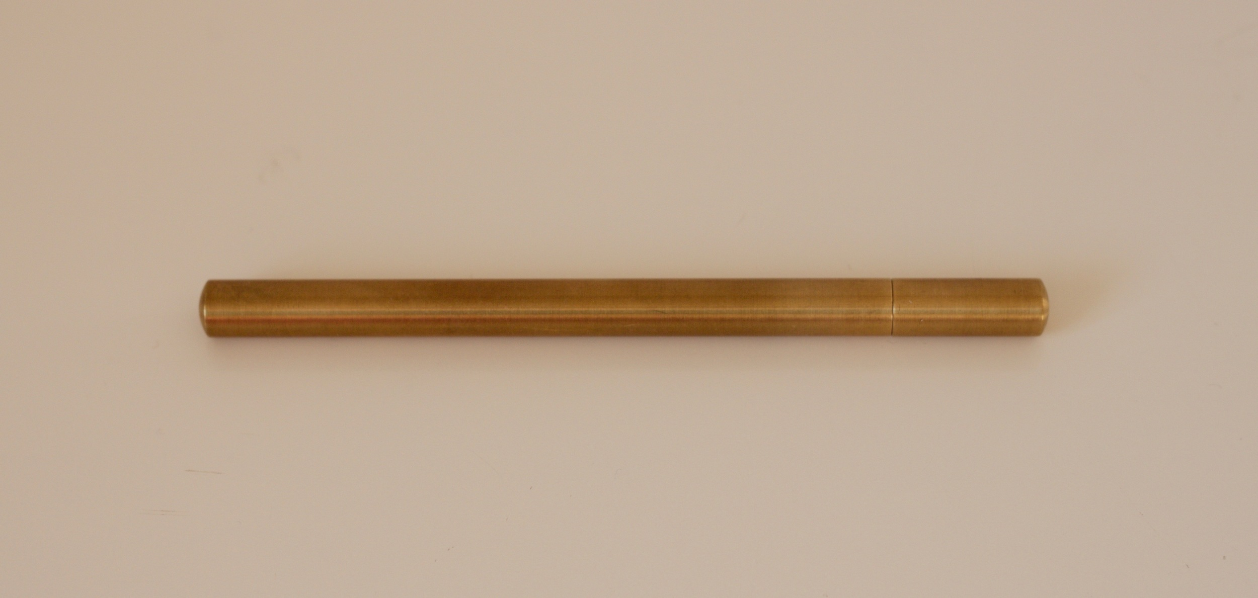 The Ateleia Brass Pen
