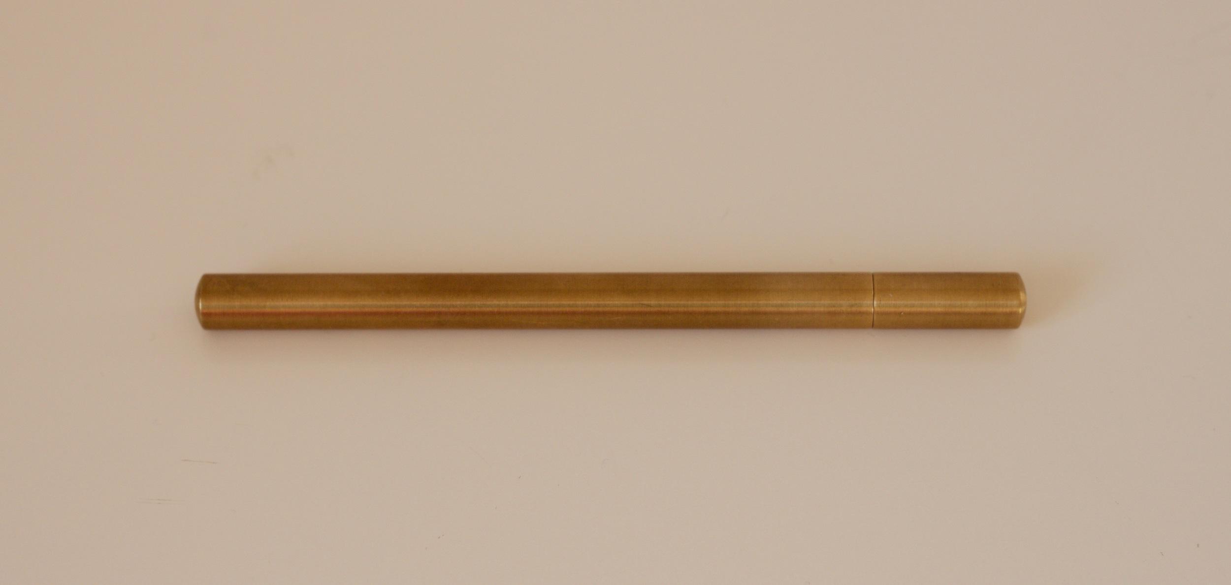 The Ateleia Brass Pen