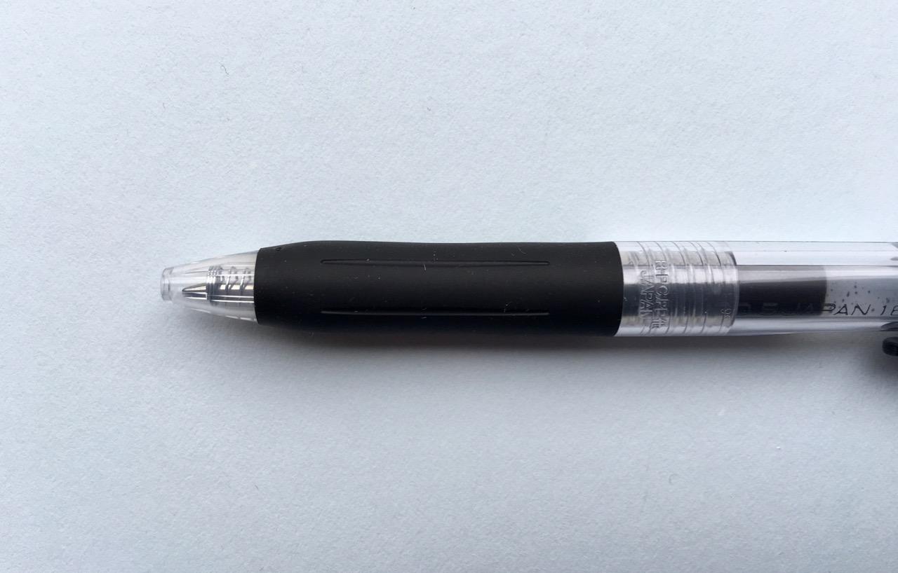 The Zebra Sarasa Clip grip section