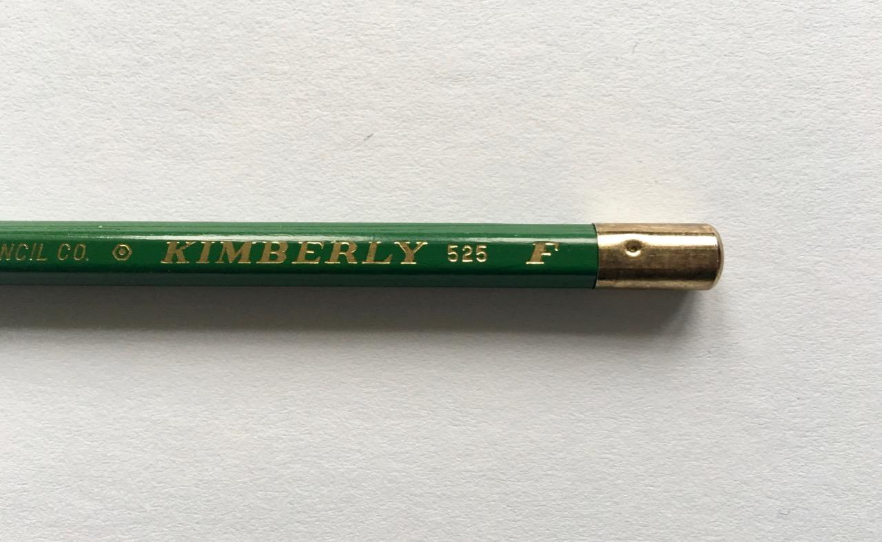 The fancy pencil end cap