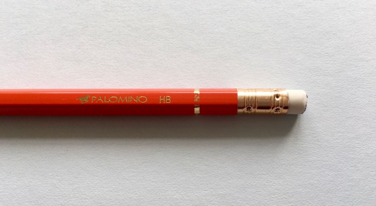 The only branding found on this pencil