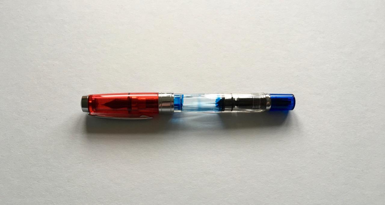 The TWSBI 580 RB fountain pen