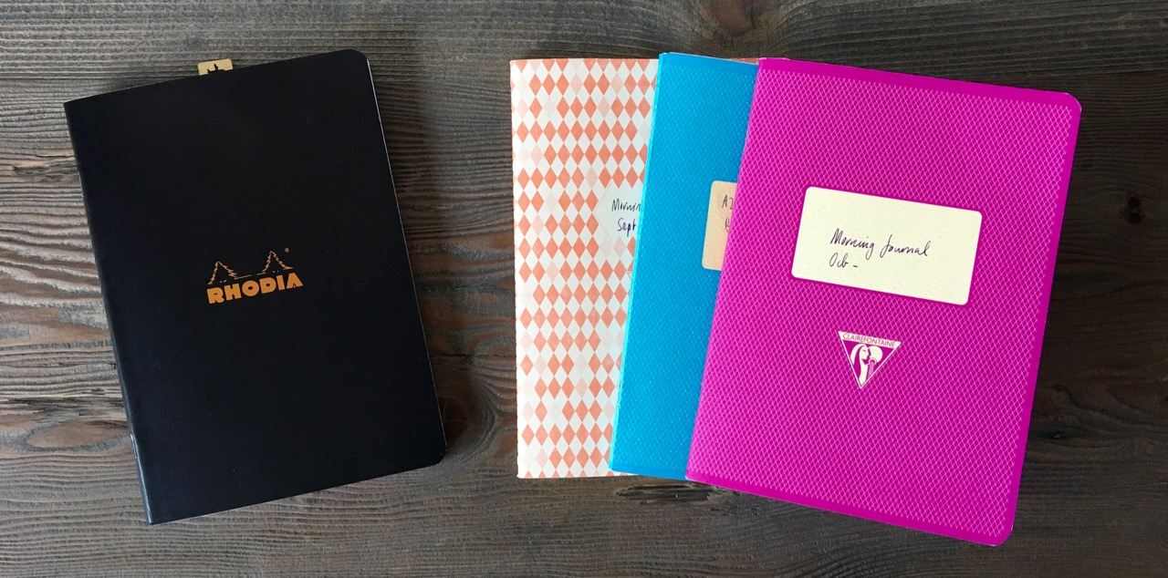 Rhodia and Clairefontaine notebooks