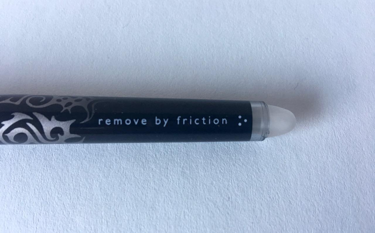 Frixion eraser