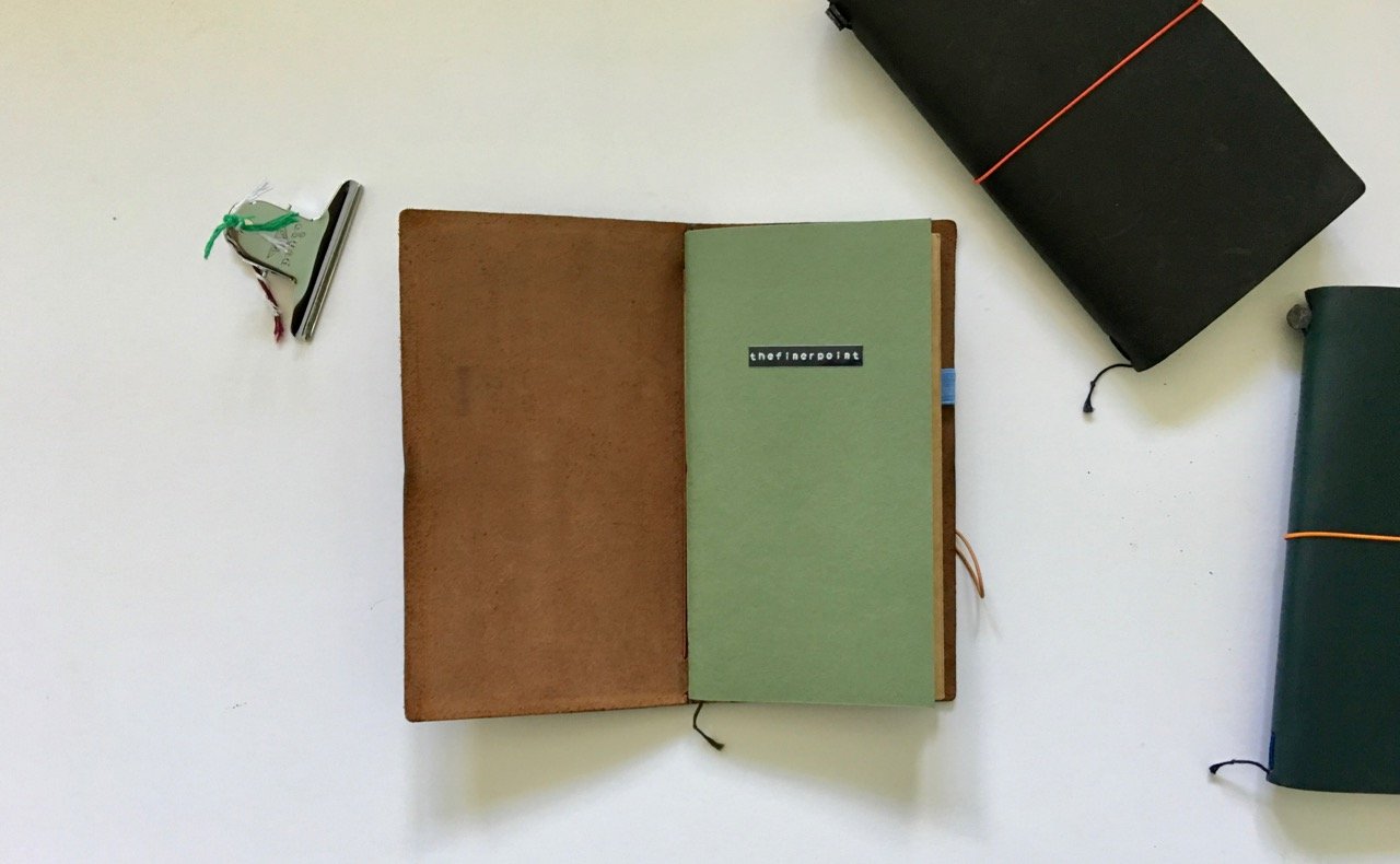 Soukime A5 Slim Travelers Notebook friendly refill