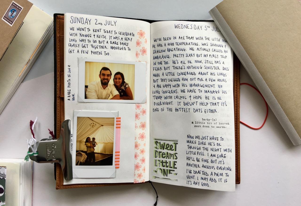 My latest journal