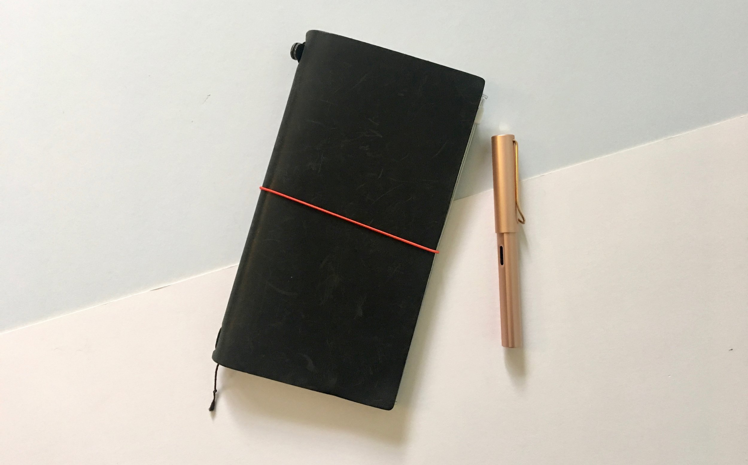 My beloved black Travelers Notebook