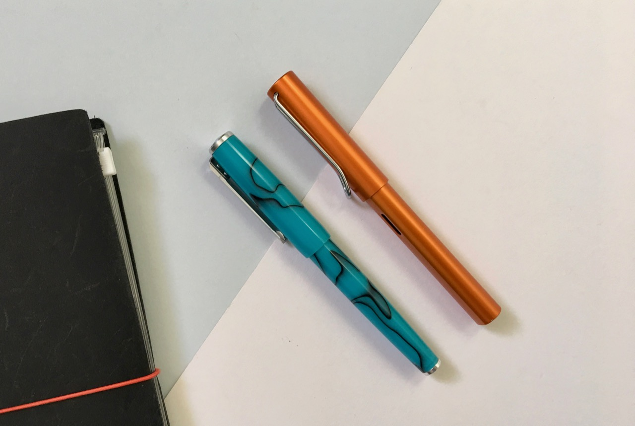 Size comparison against the Lamy AL Star