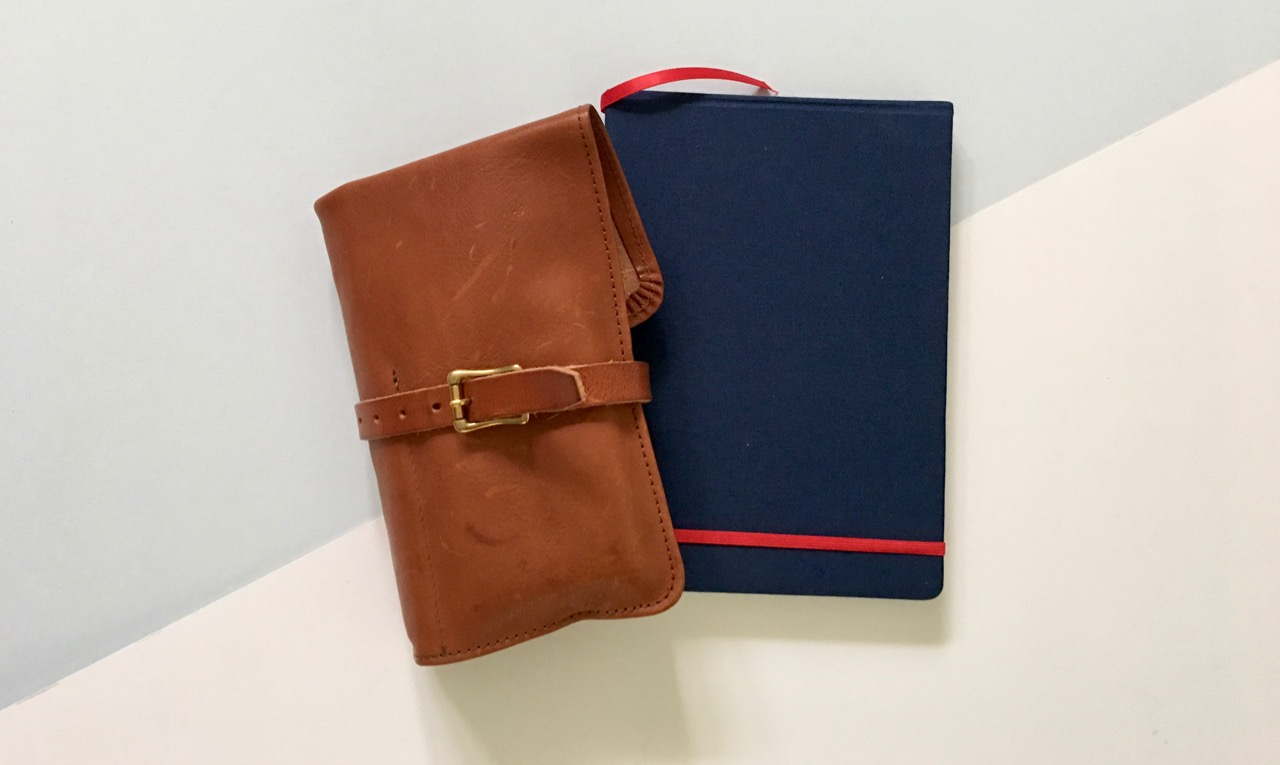 Superior Labor pen roll and the Mindstone sketchbook