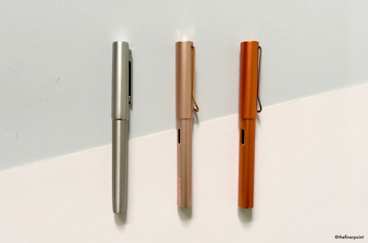 Posted the Aion doesn't look much bigger than other Lamy fountain pens
