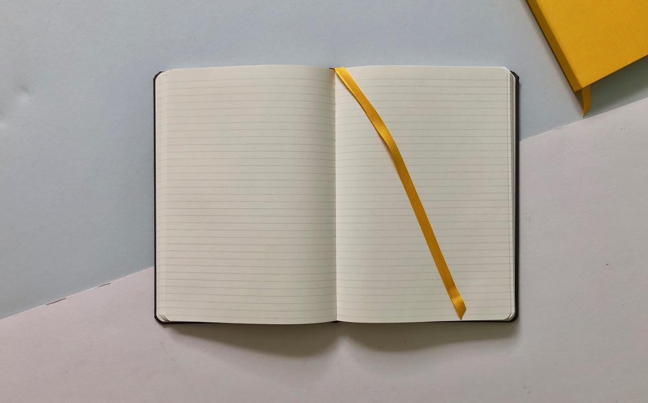 Creamy ruled pages...the dream