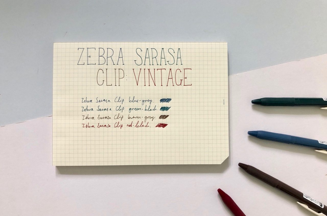 58acf8933cac The Zebra Sarasa Clip is my favourite gel ink pen. I have found them the  most consistent gel pens giving me a smooth line and starting up even if it  hasn't ...