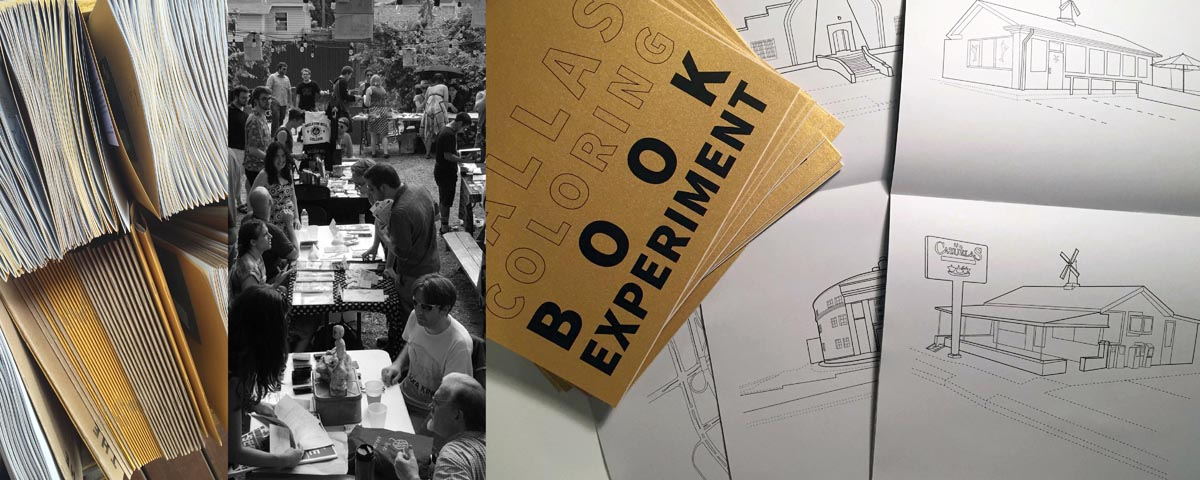 The Dallas Coloring Book Experiment