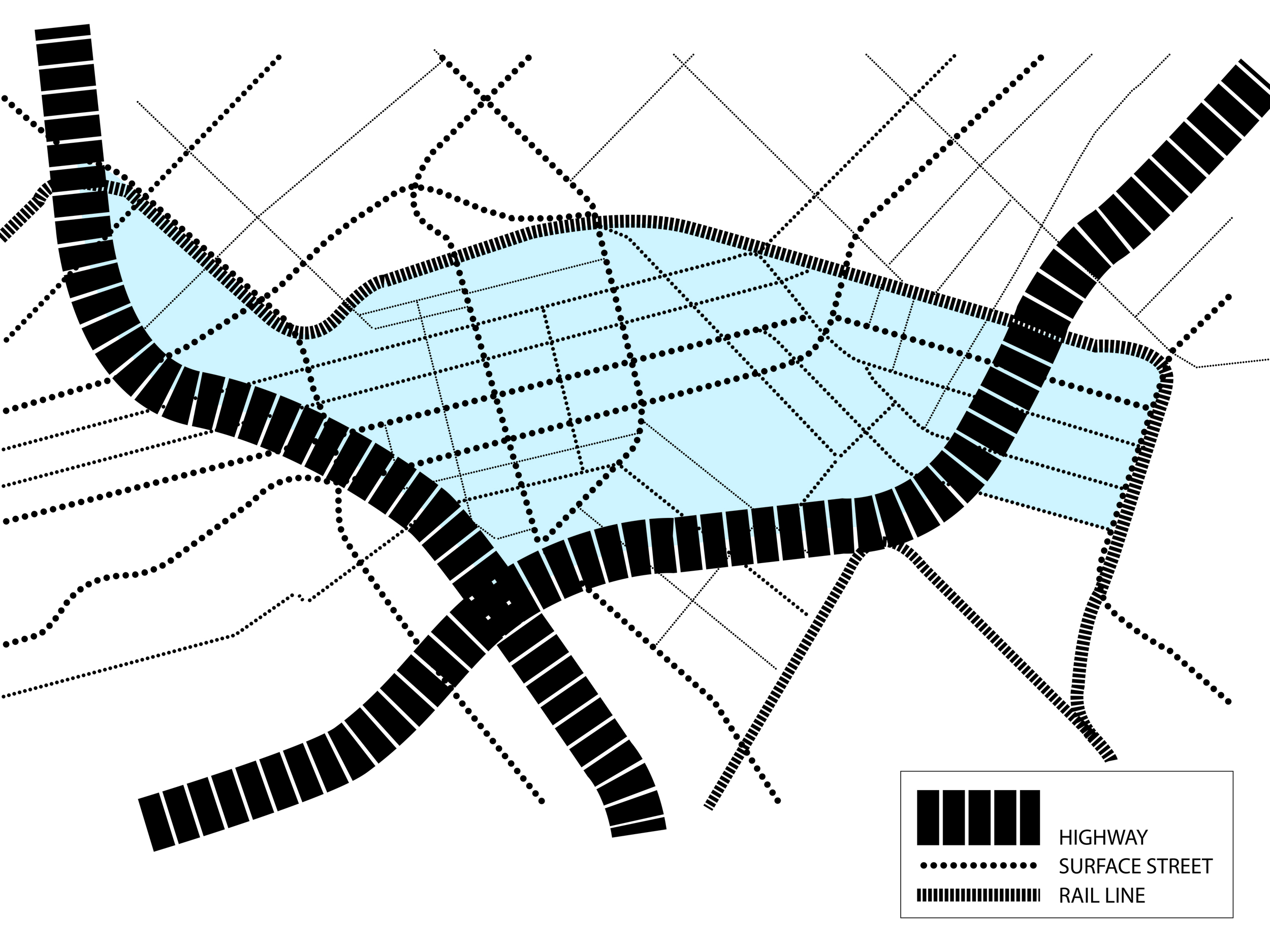 Existing Street Grid