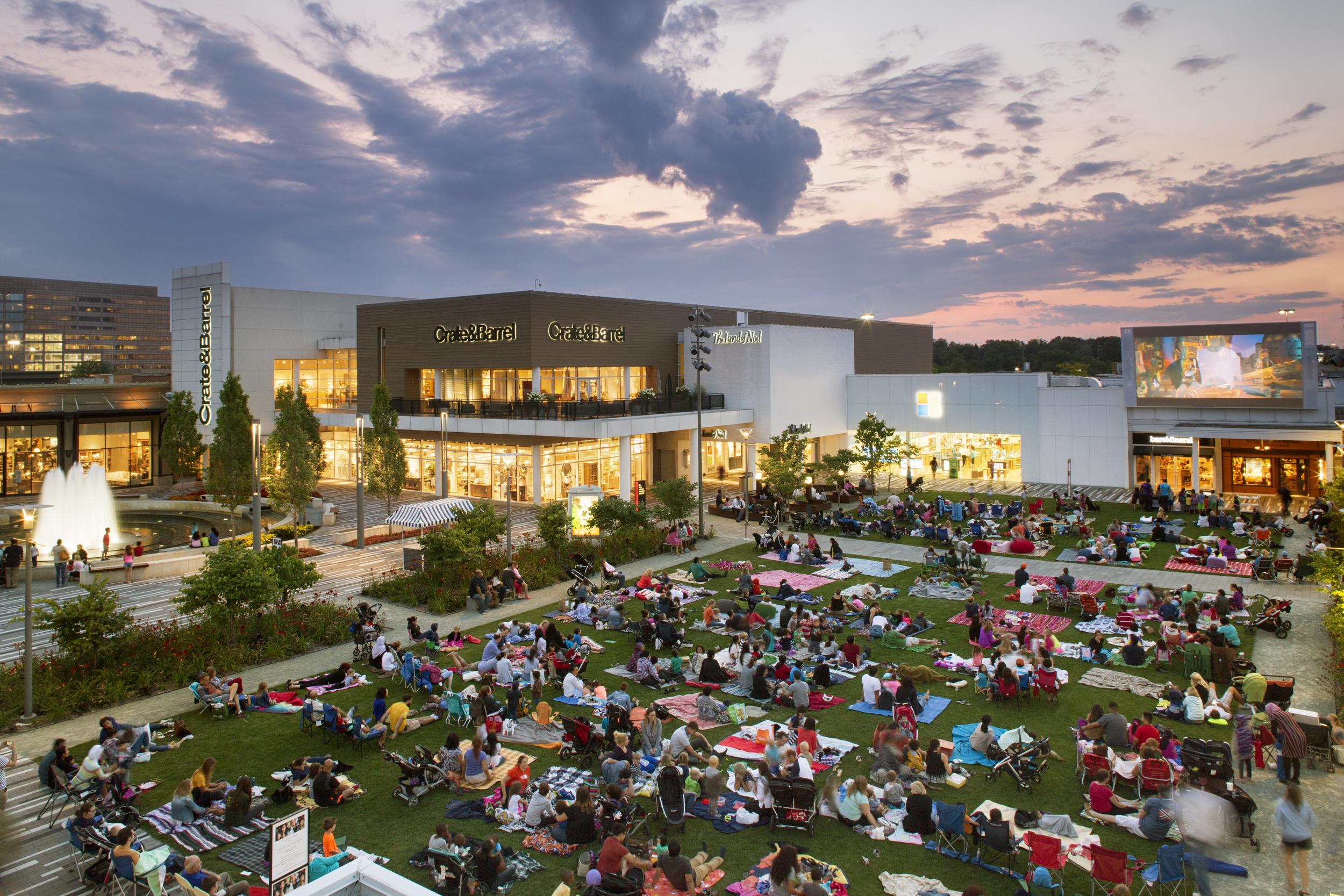 Oakbrook Center , by Studio Outside, photo by Arlen Kennedy