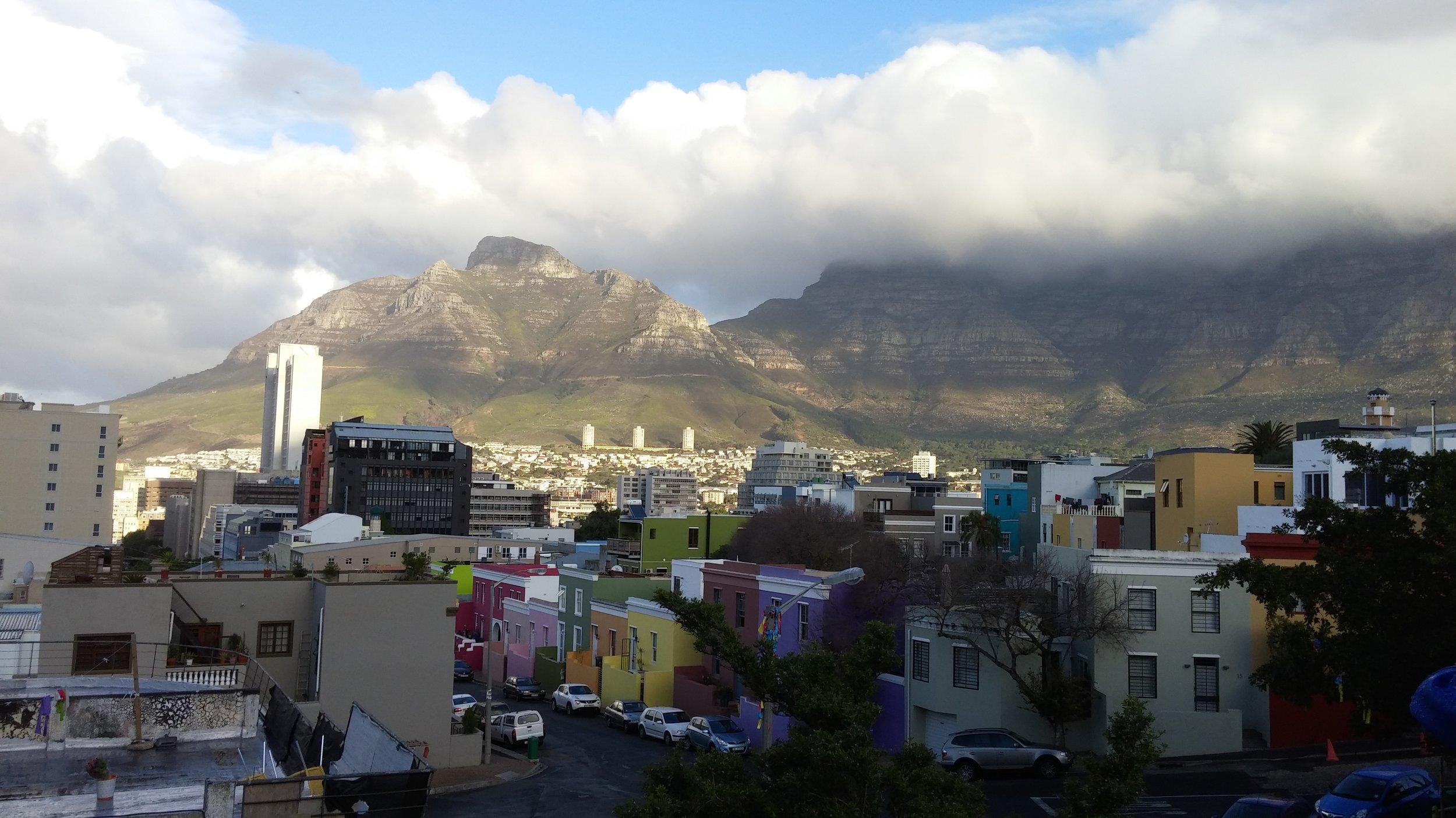 View of Bo Kaap