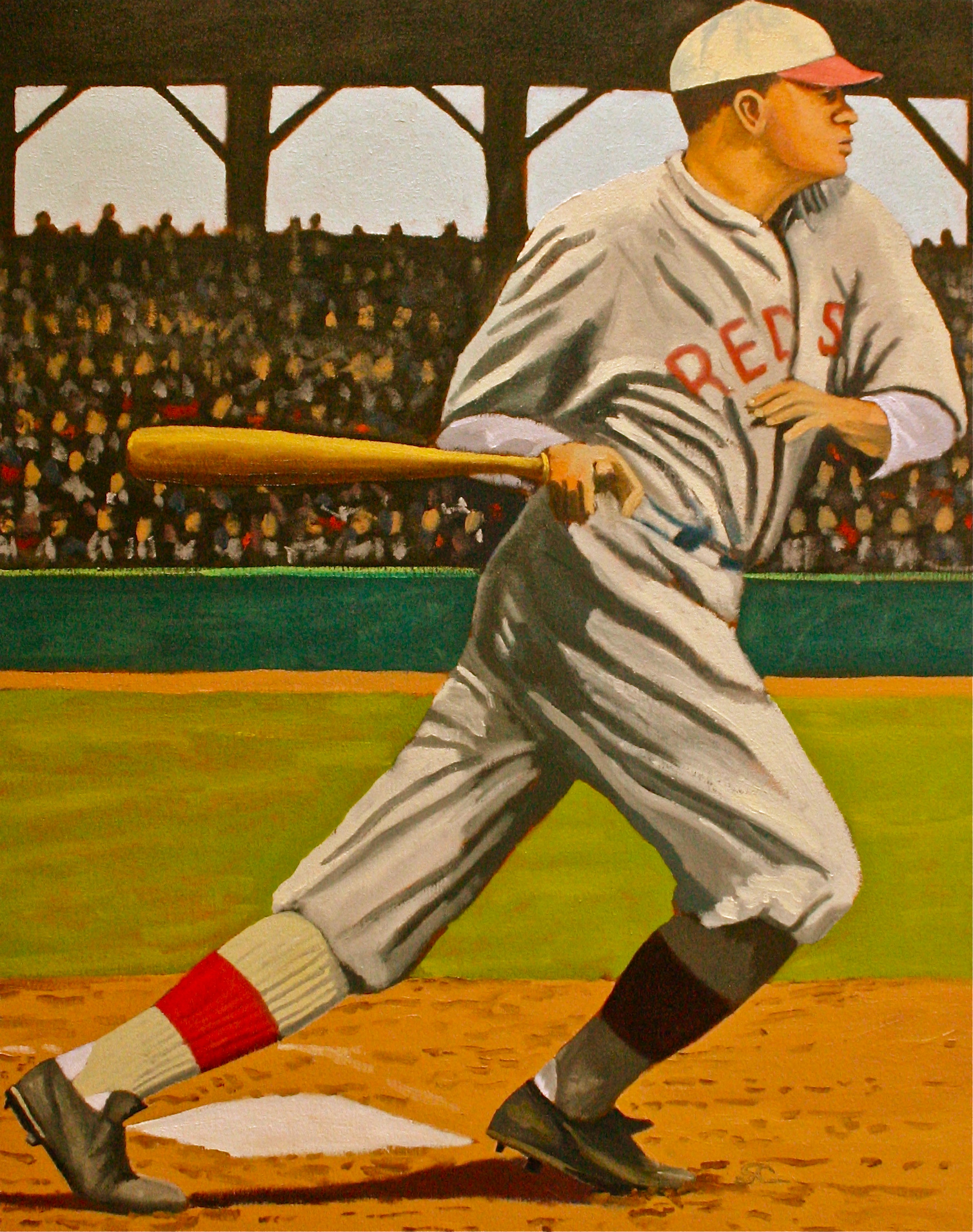 """""""The Young Bambino"""" oil on canvas 24 x 30"""