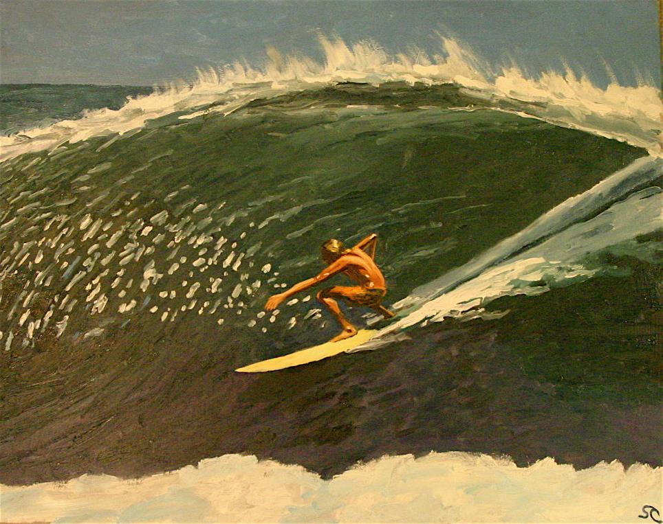 """""""Centro America 1972"""" oil on canvas 20 x 24 sold"""