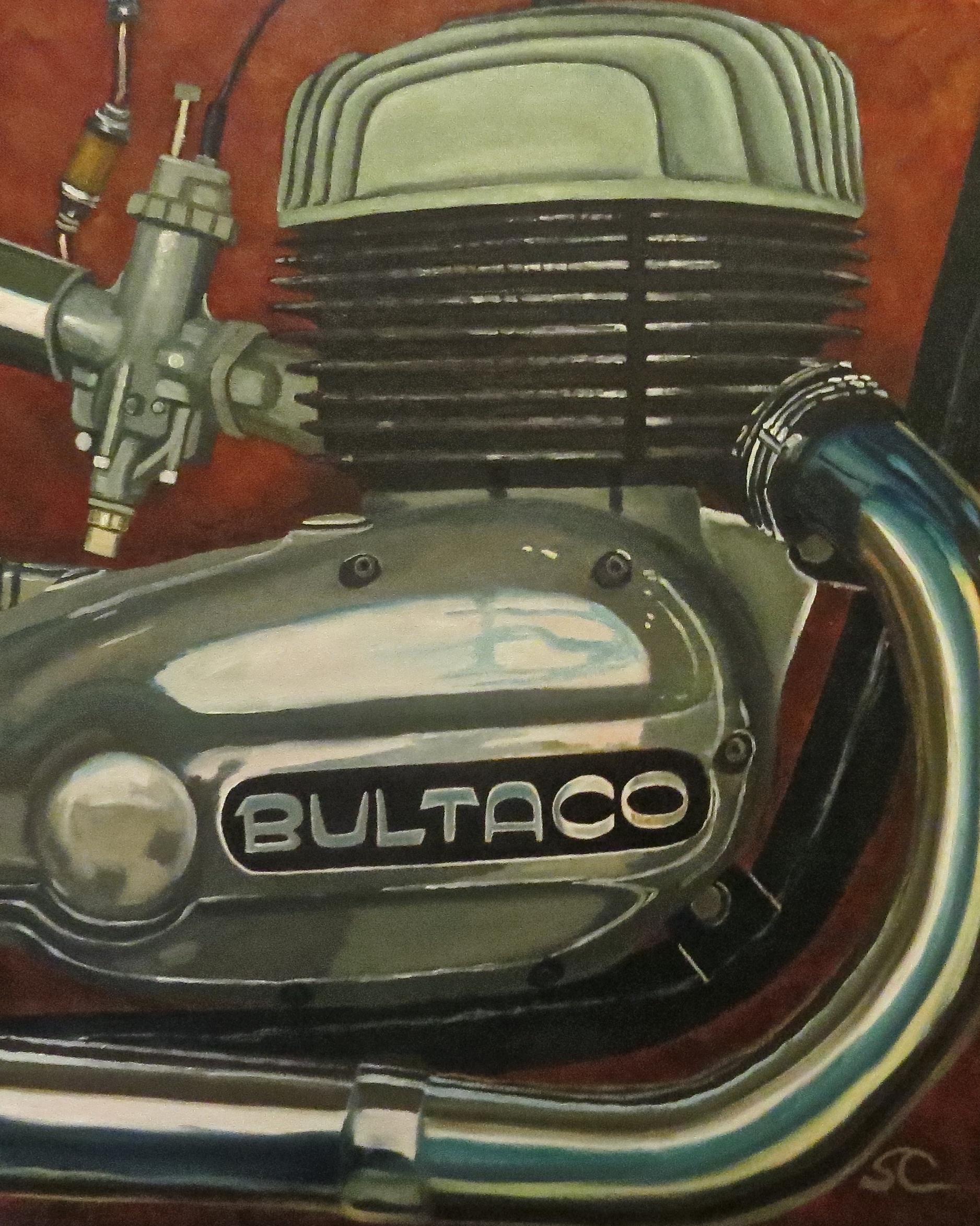 """Built to Go!"" oil on canvas 24 x 30"