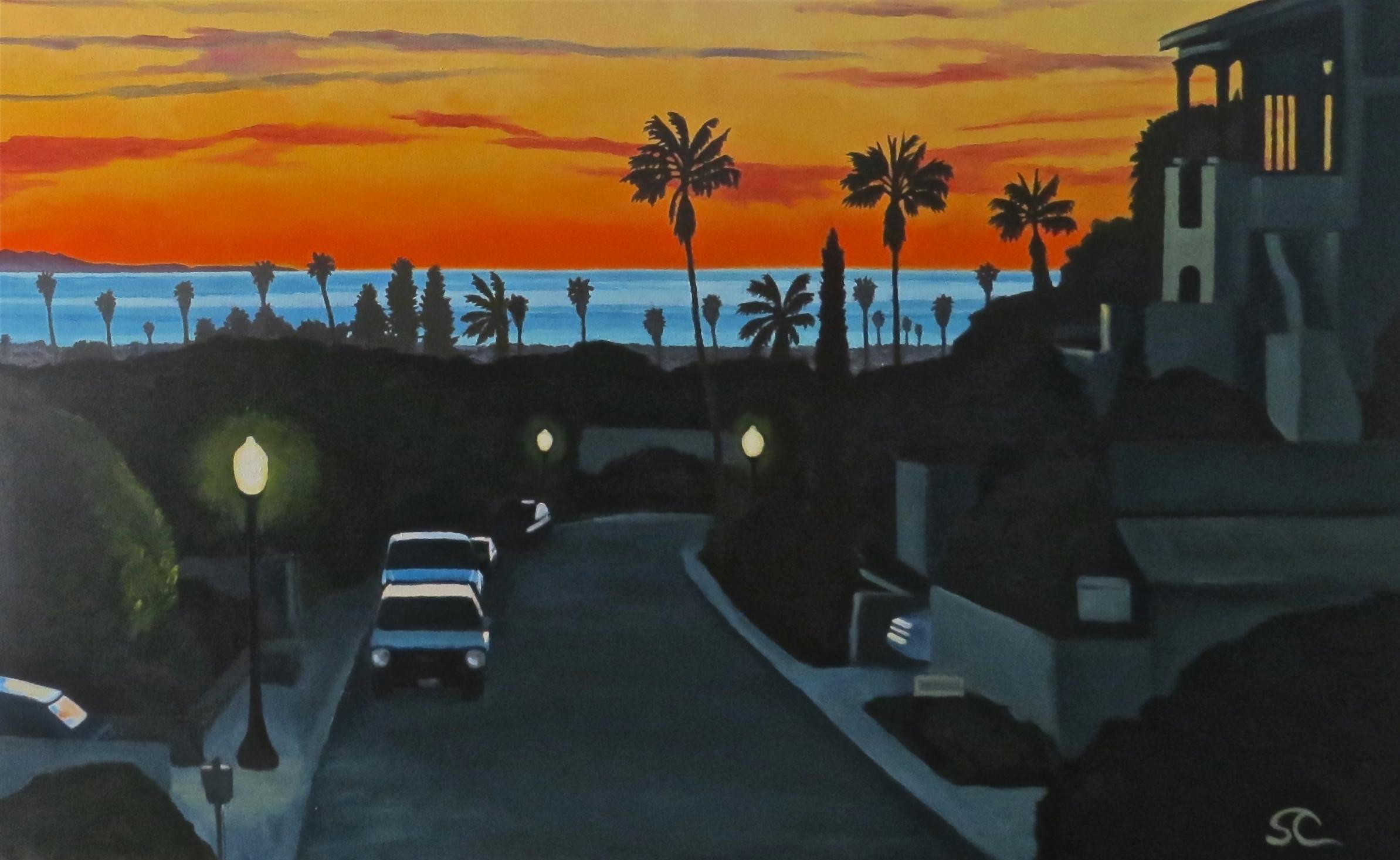 """""""Last Light"""" oil on canvas 30 x 48"""