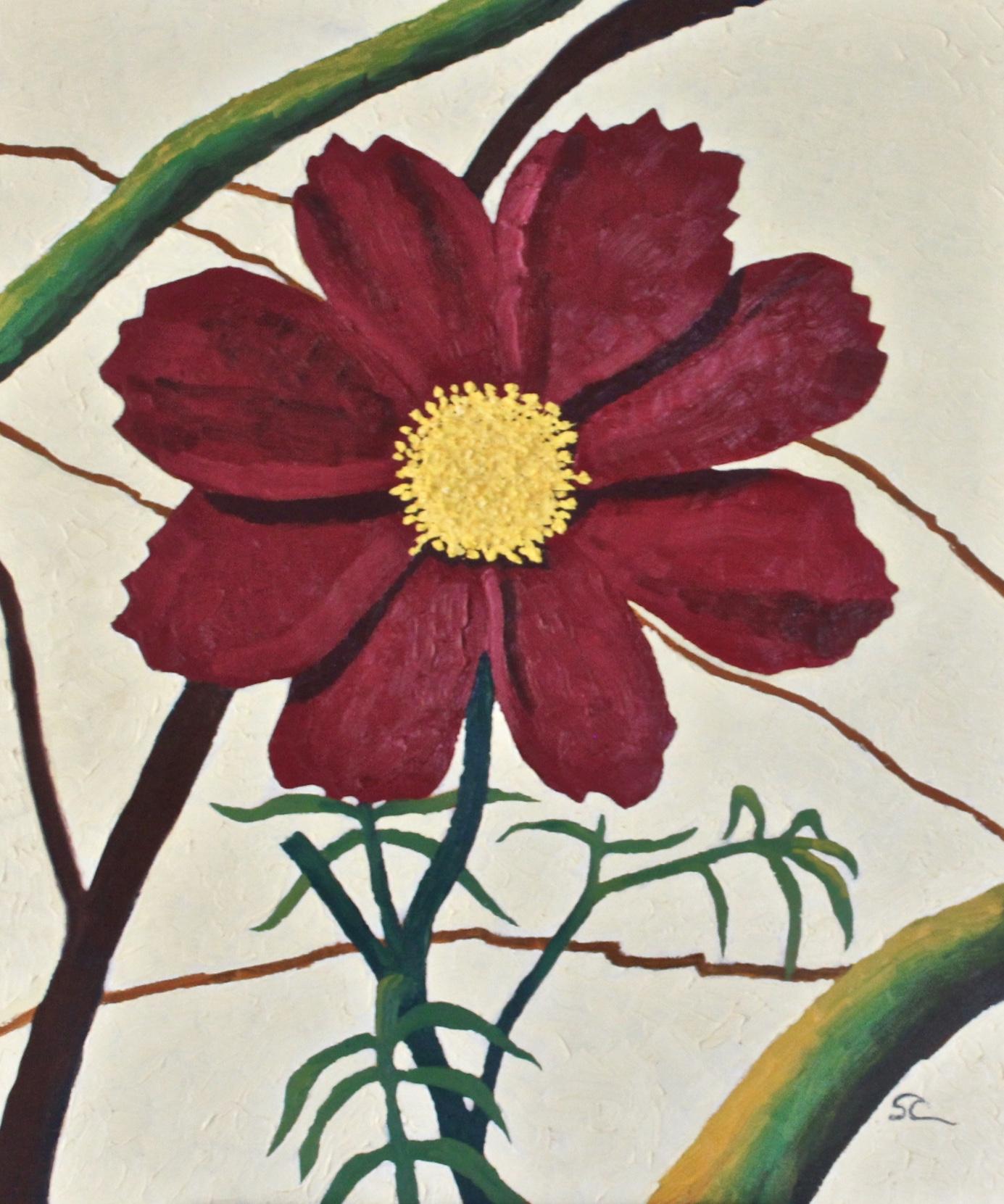 """Princess of the Garden"" oil on canvas 20x24"