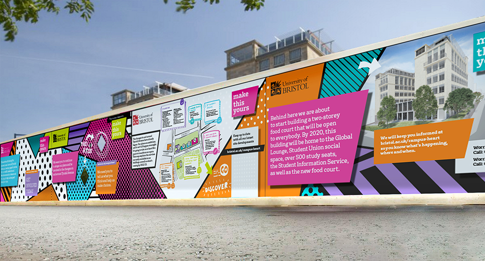 Senate House Hoardings