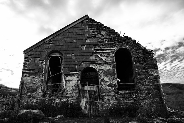Abandoned house on Snowdon