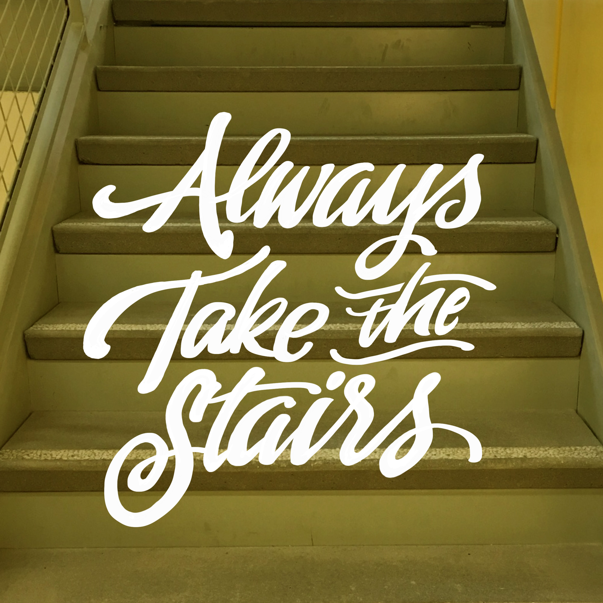 always take the stairs by john suder.jog