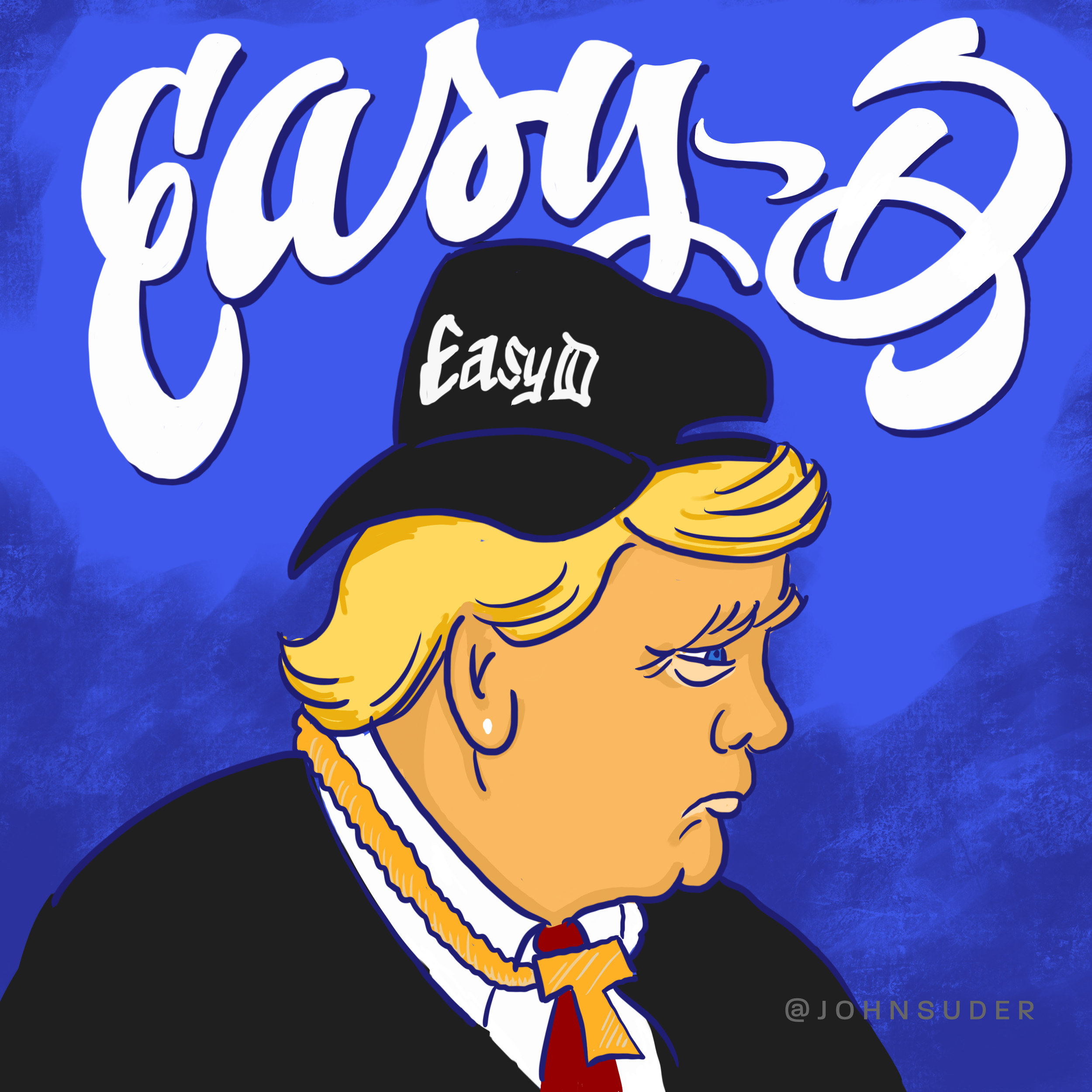 donald trump easy d by john suder.png