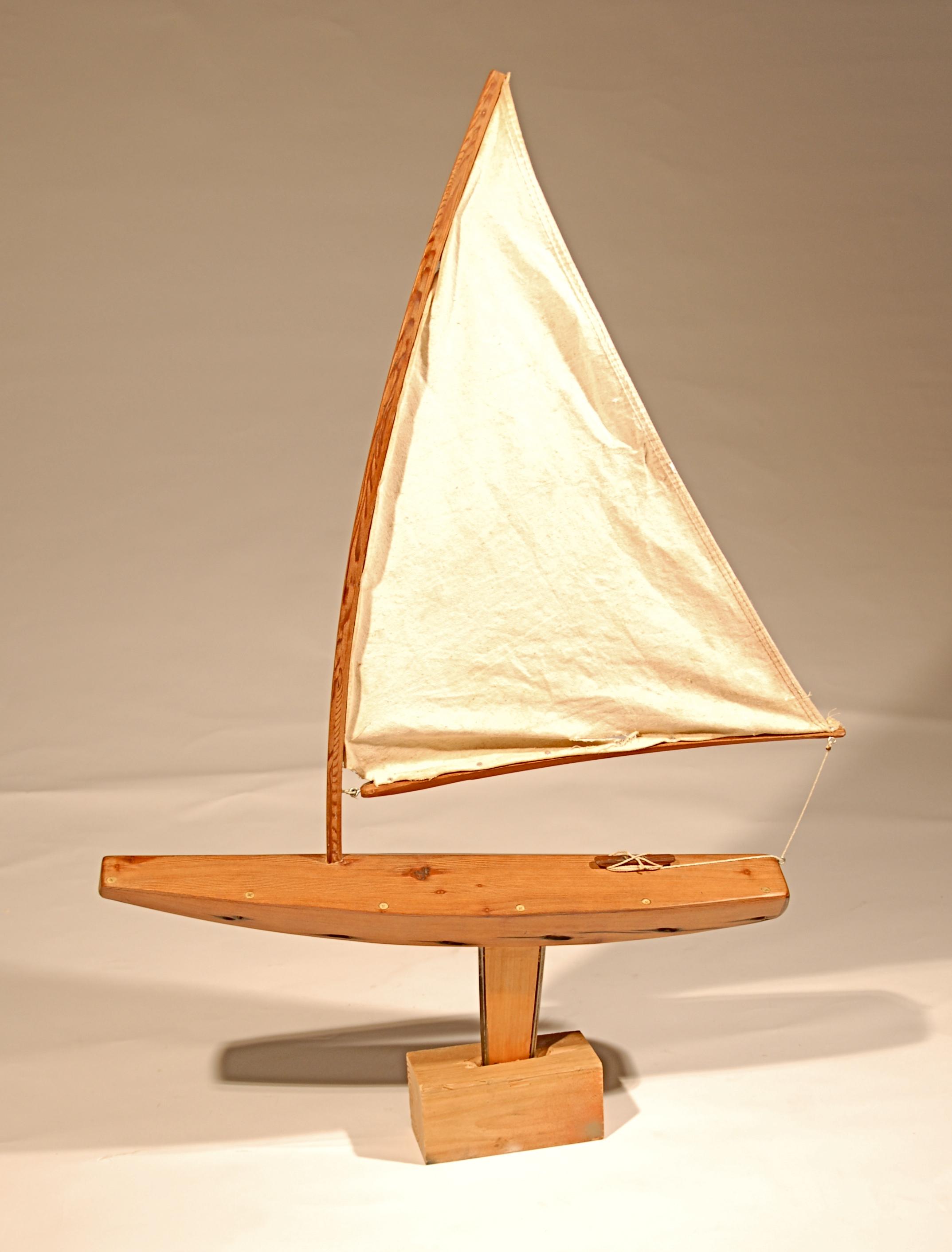 Redwood Sailboat