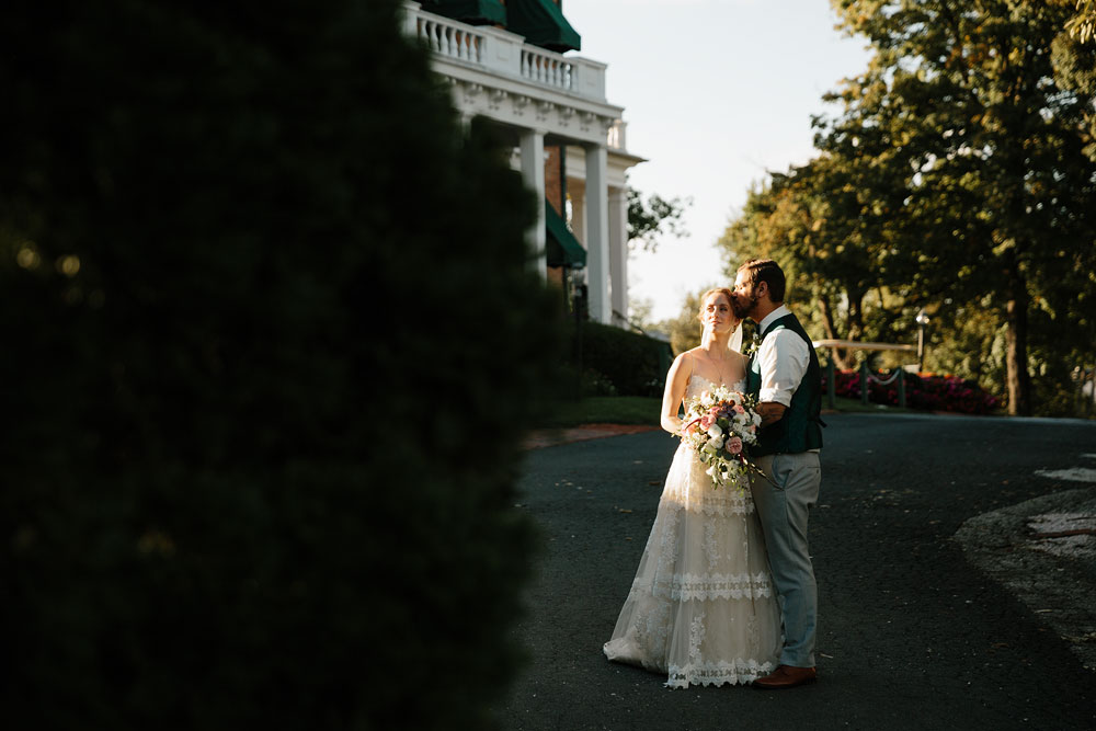 bride and groom at antrim 1844 mansion wedding photographers