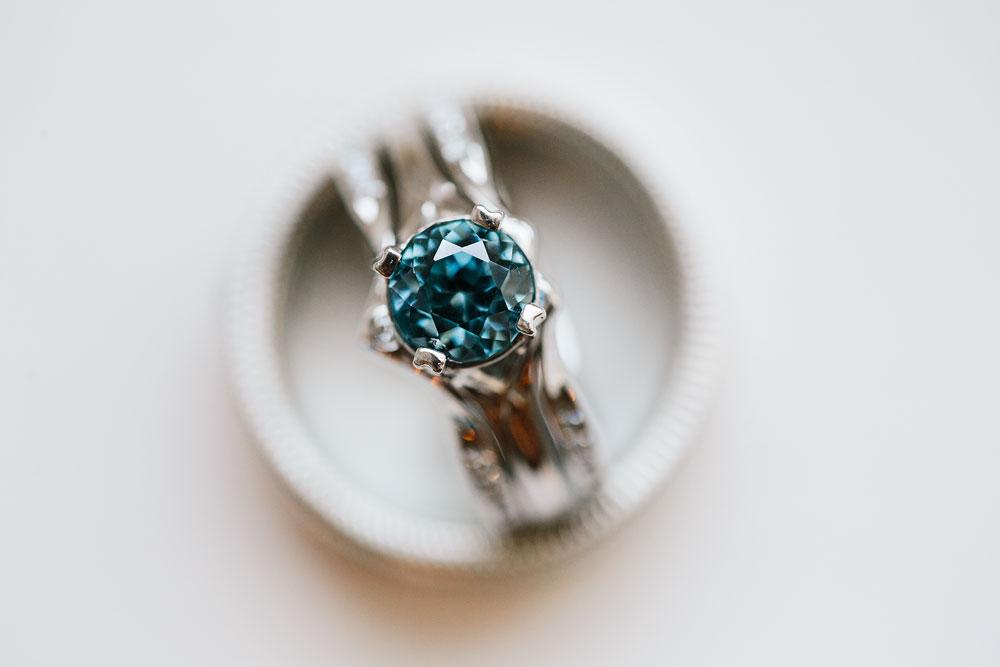 wedding ring at royal park hotel in detroit michigan