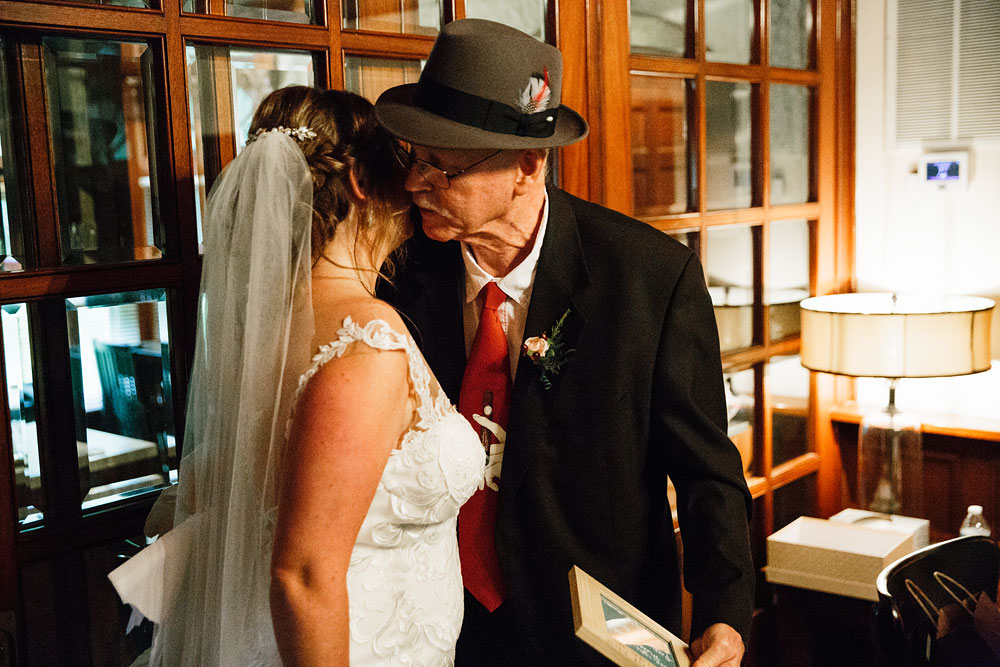 father of bride giving advice