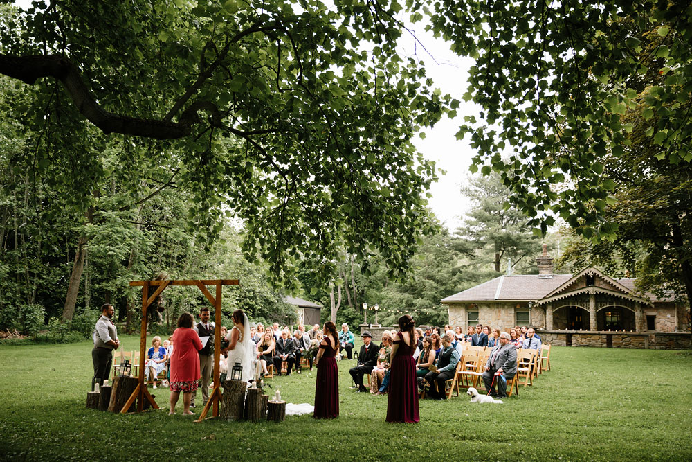 wedding at Hines Hill Conference Center in Cuyahoga Valley National Park