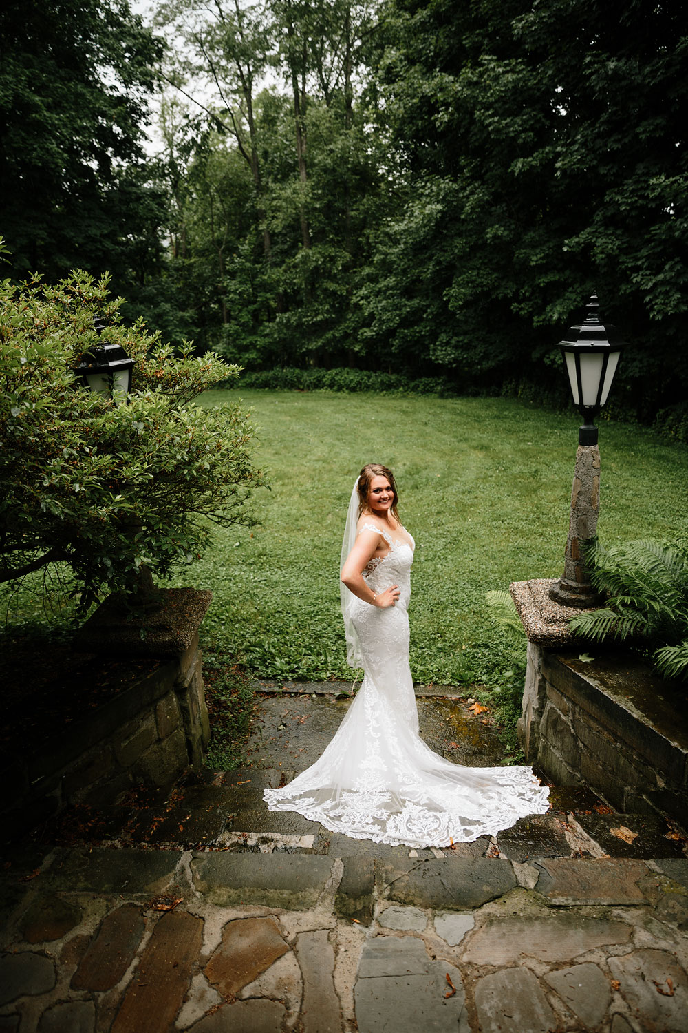 bride photography at Hines Hill Conference Center in Beautiful Cuyahoga Valley National Park