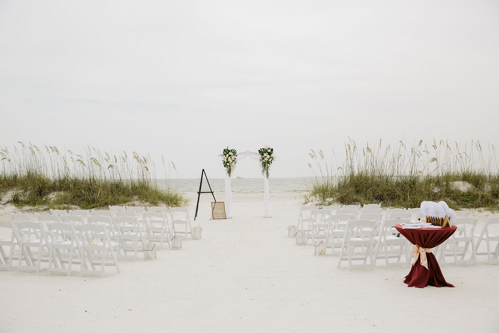 Destination Wedding at Pink Shell Resort in Fort Myers Beach Florida