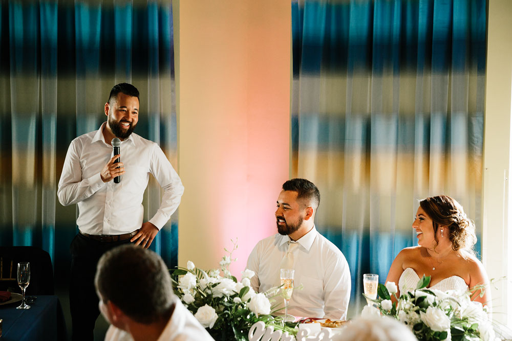 best man's speech at wedding reception