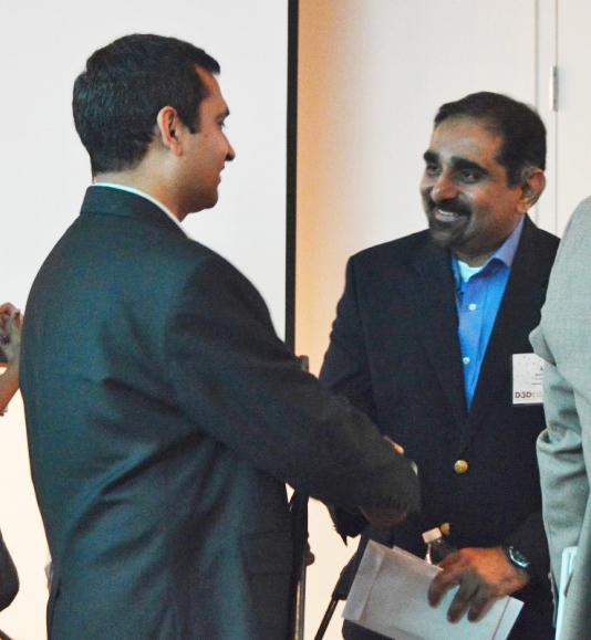 Rudra Dubey of Ontogenes &Anil Thomas.