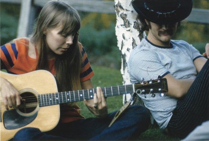 Joni Mitchell and David Crosby
