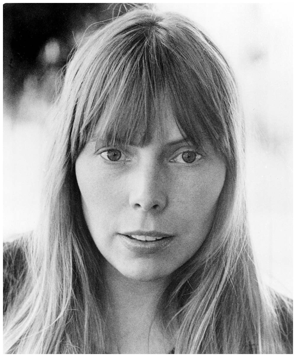 """Joni Mitchell in 1972, the year before """"Free Man in Paris"""" was released on the album """"Court and Spark"""""""