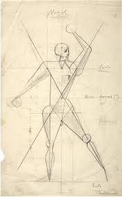 Bauhaus Nude Drawing