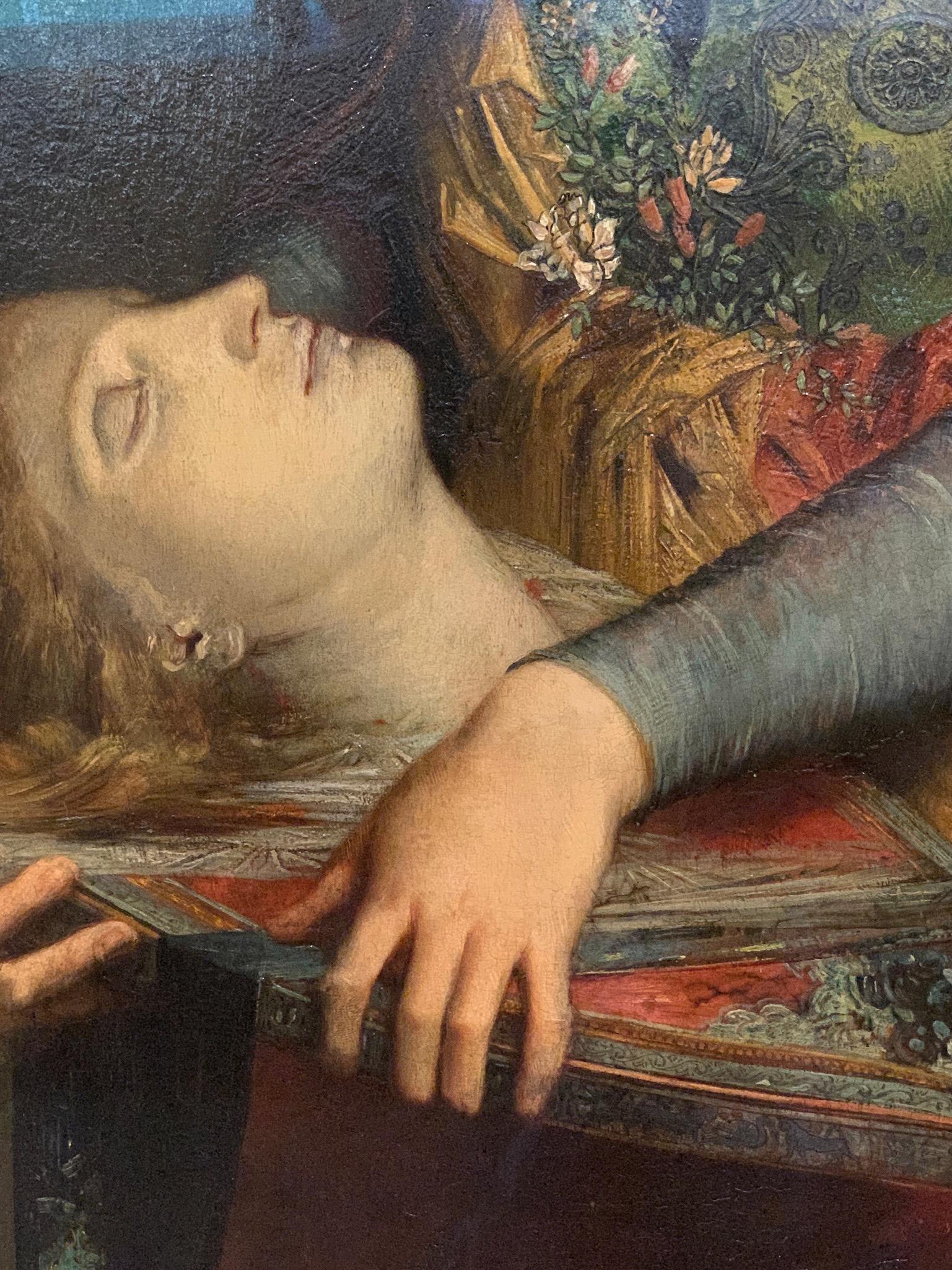 "Detail, Gustave Moreau, ""Orpheus"""
