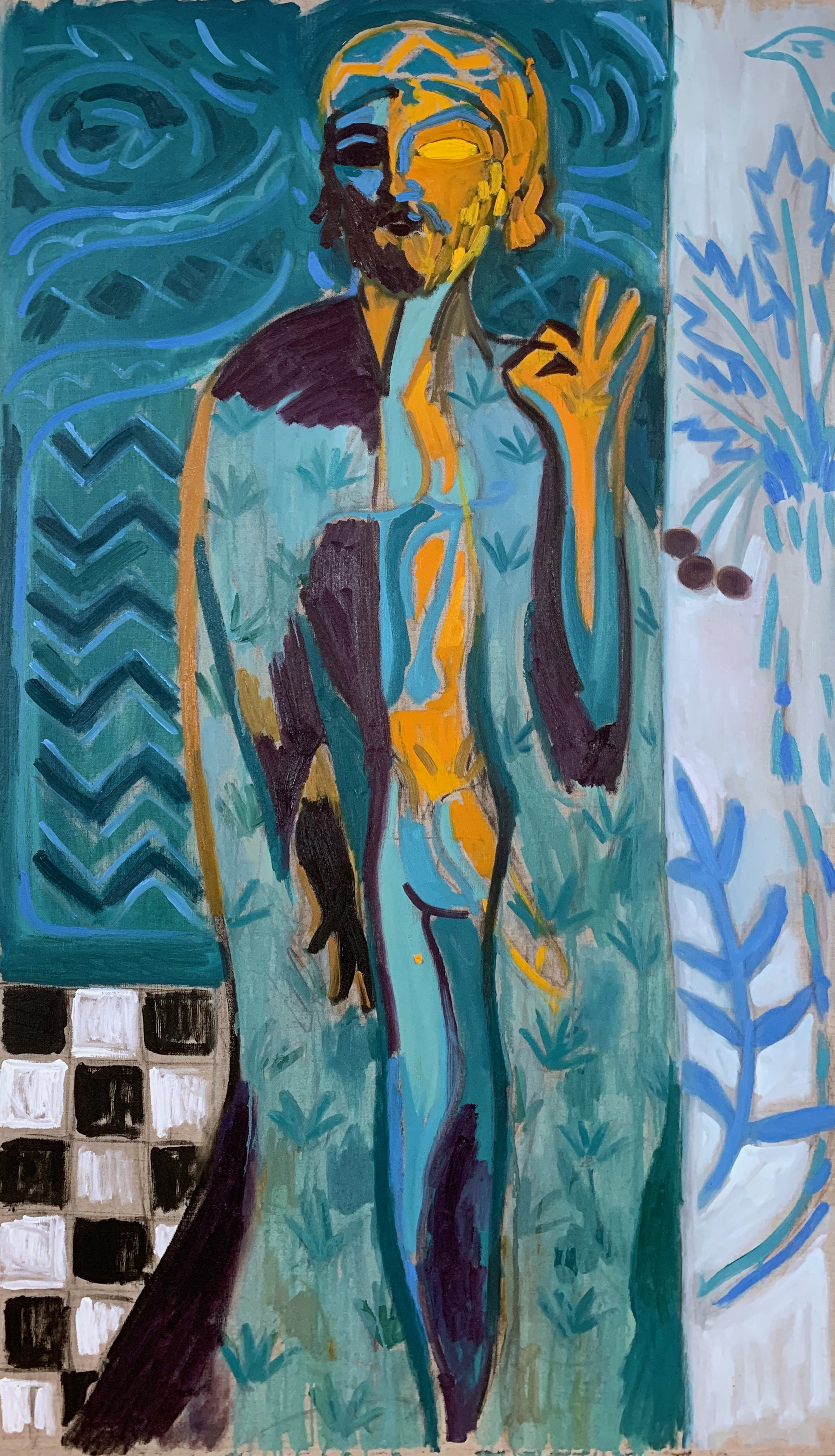 Sephardic Orpheus (Wearing the Robe of Ishtar)